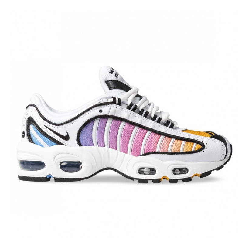 AIR MAX TAILWIND IV WOMENS White Black University Blue Psychic Pink University Gold