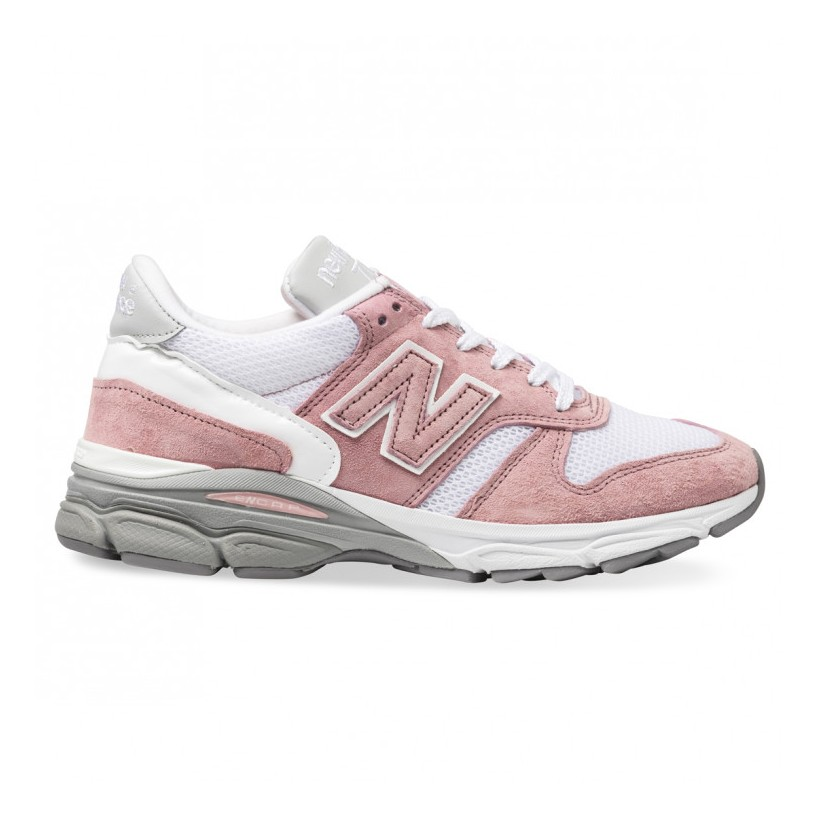 770.9 WOMENS MADE IN ENGLAND Pink White