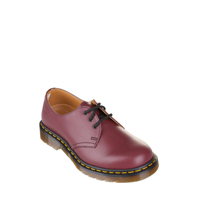 1461 3-Eye Shoes - Unisex Cherry Smooth by Dr Martens