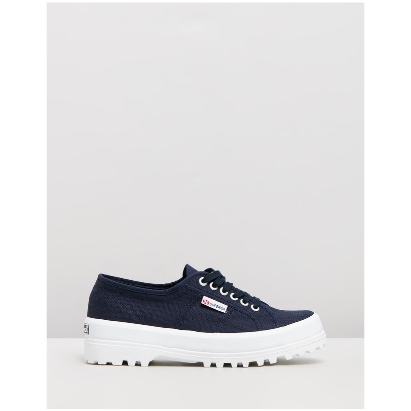 2555 Cotu - Women's Navy & White by Superga