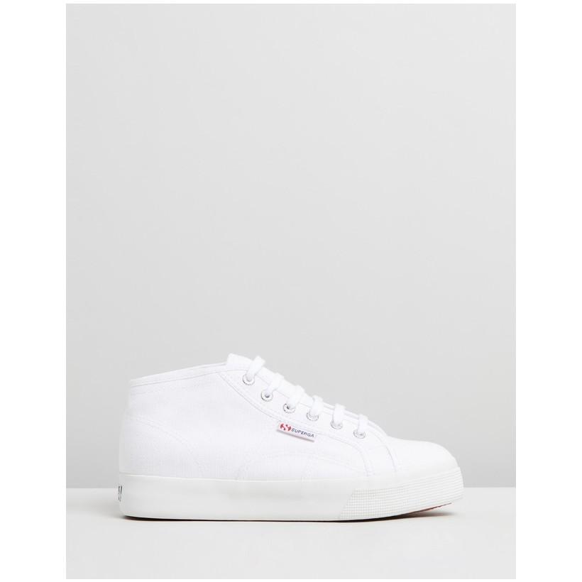 2578 Cotu Mid - Women's White by Superga