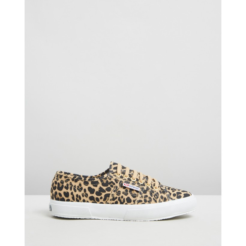 2750 Fantasy Cotu Sneakers Classic Leopard by Superga