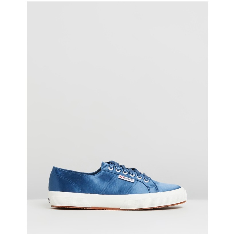 2750 Satin - Women's Blue Legion by Superga