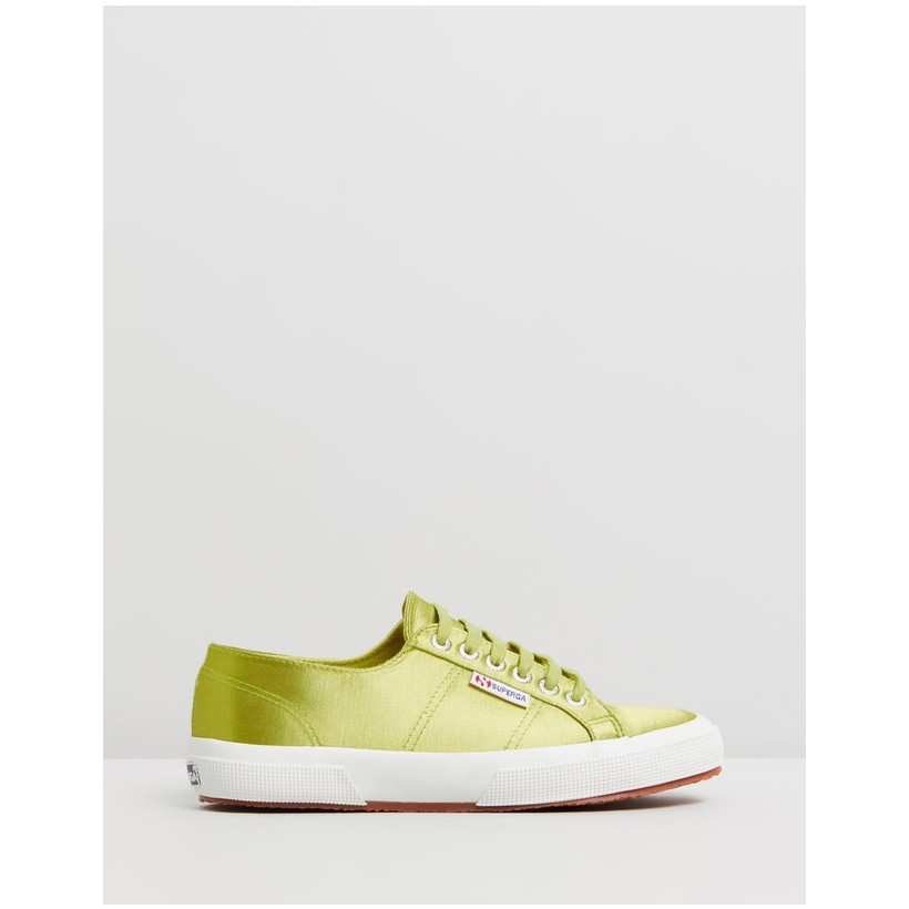 2750 Satin - Women's Green Lime by Superga