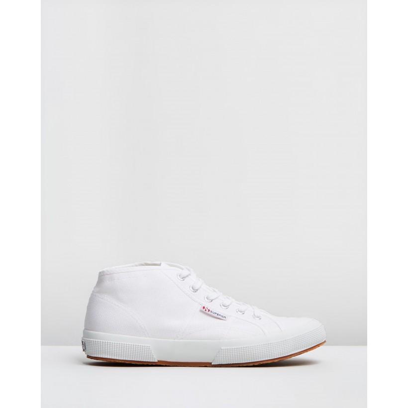 2754 Cotu Mid - Unisex White by Superga