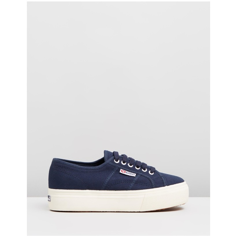 2790 Linea Up and Down - Women's Navy by Superga