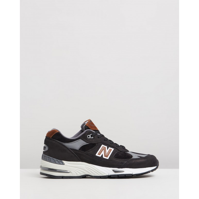 991 MADE IN UK Black by New Balance Classics