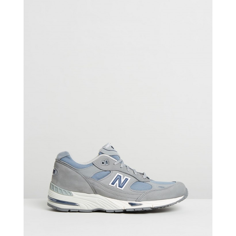 991 Made - Men's Grey & Navy by New Balance Classics