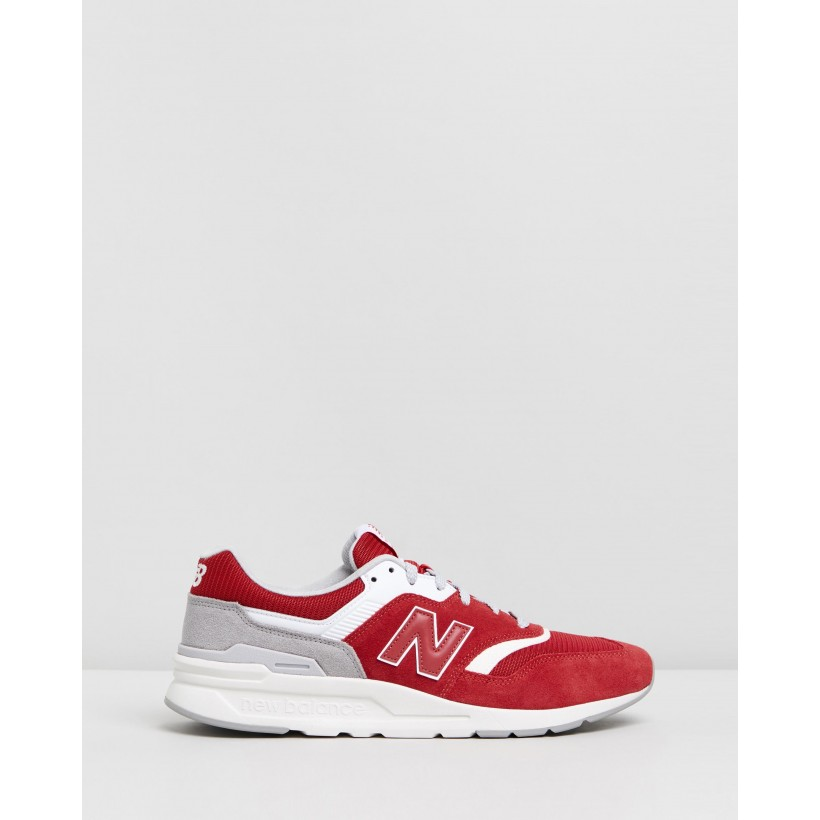 997H - Men's Red & Grey by New Balance Classics