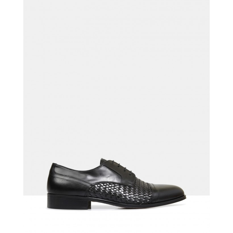 Abel Leather Shoes Nero by Brando
