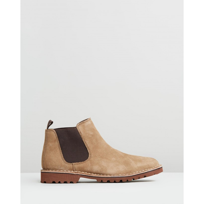 Abie Boots Taupe by Kenneth Cole