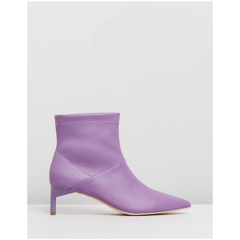 Accelerator Booties Purple by Manning Cartell