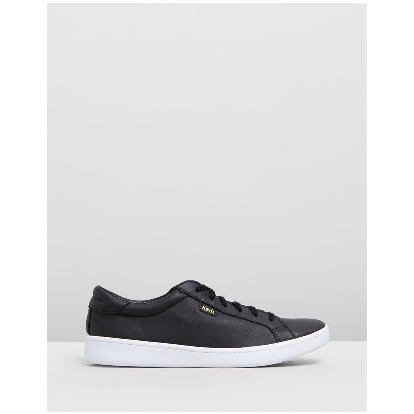 Ace Leather Black by Keds