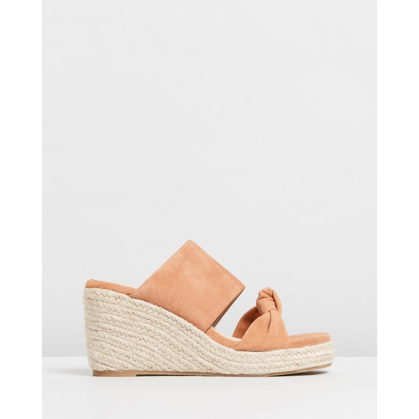 Adele Tan Suede by Nude