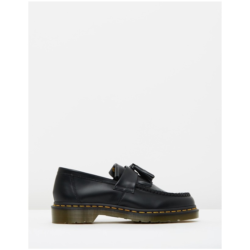 Adrian Tassel Loafers - Women's Black by Dr Martens