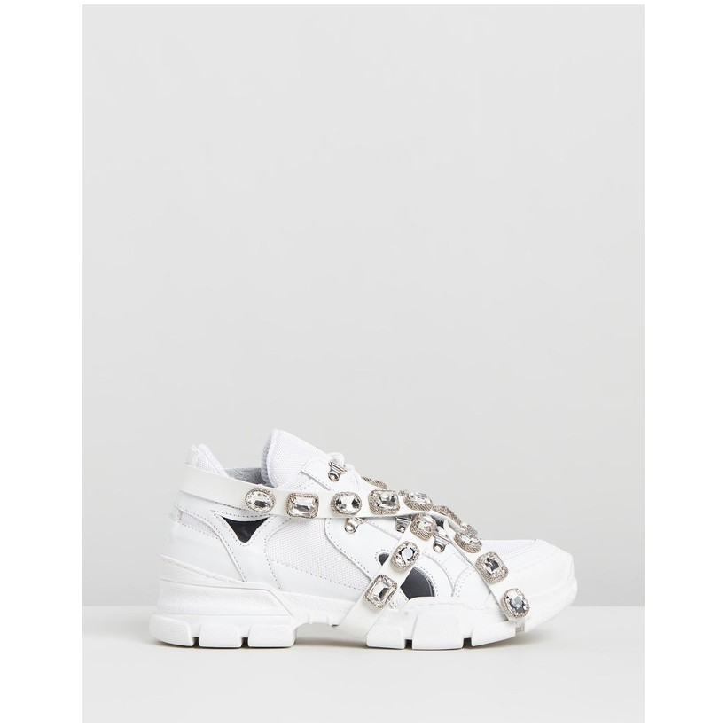 Agora Sneakers White by Ammos