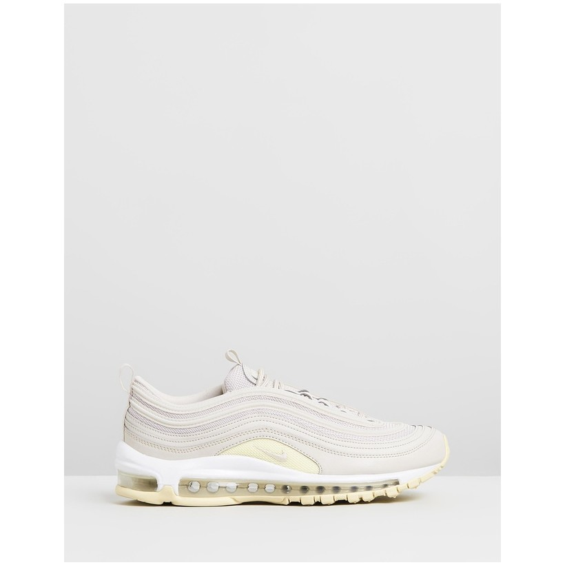 Air Max 97 - Women's Desert Sand, Beach & White by Nike