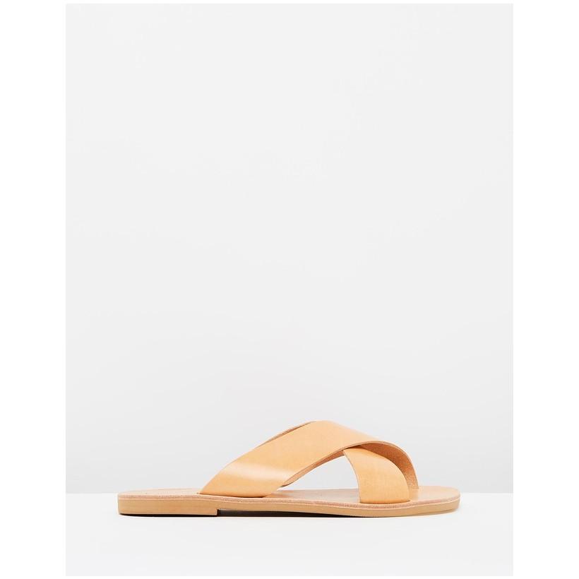 Aletheia Sandals Tan by Ammos