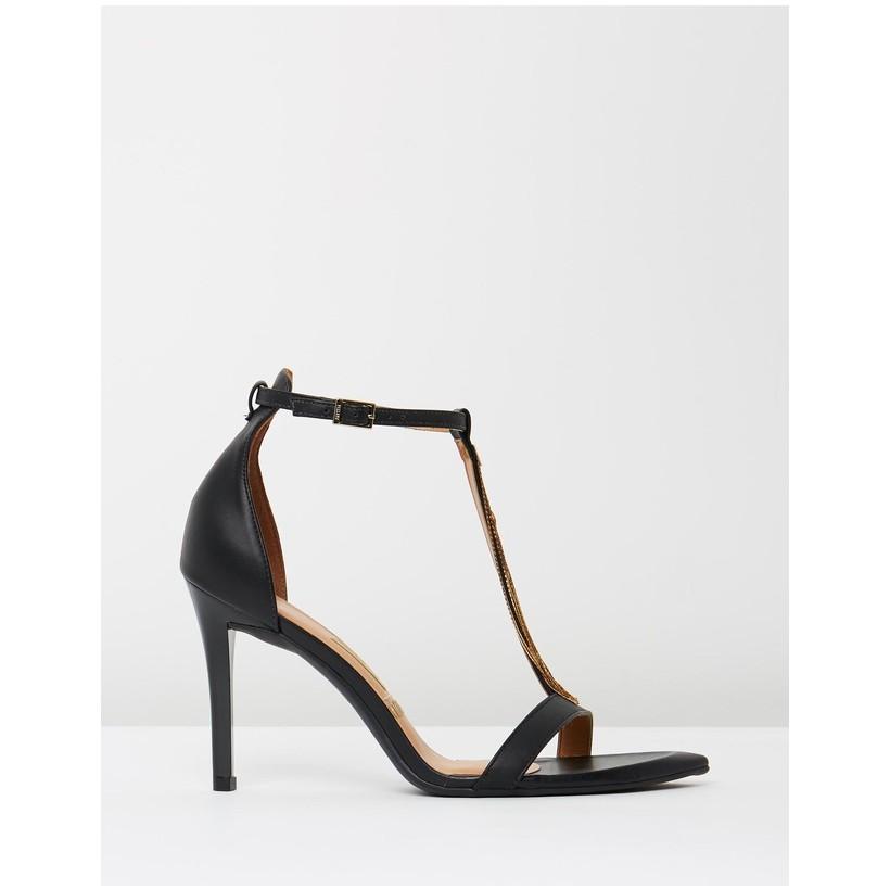 Alexia Heels Black by Vizzano