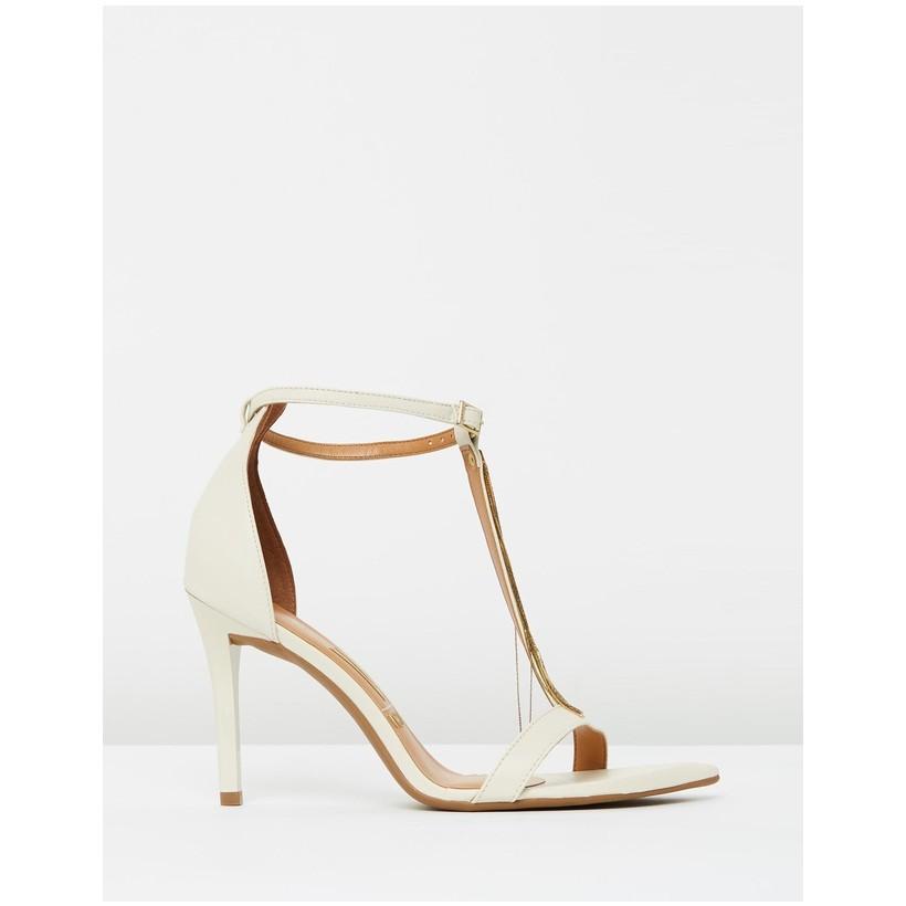 Alexia Heels Off White by Vizzano