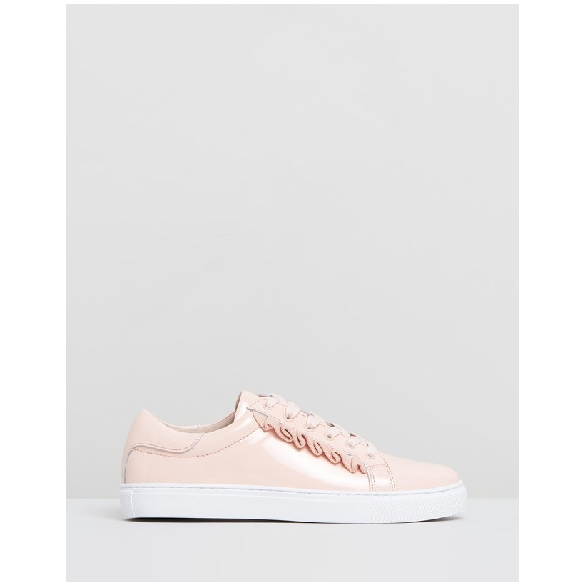 Alexis Frill Sneakers Pink Patent by Walnut Melbourne