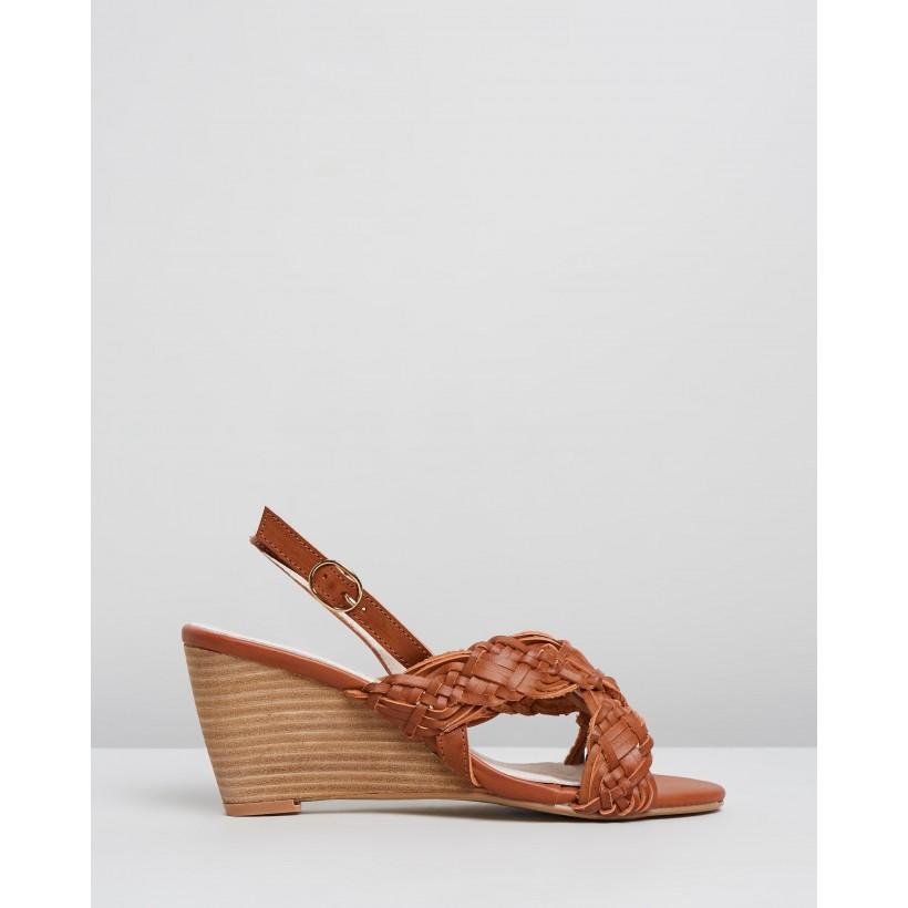Alice Wedges Tan by Walnut Melbourne