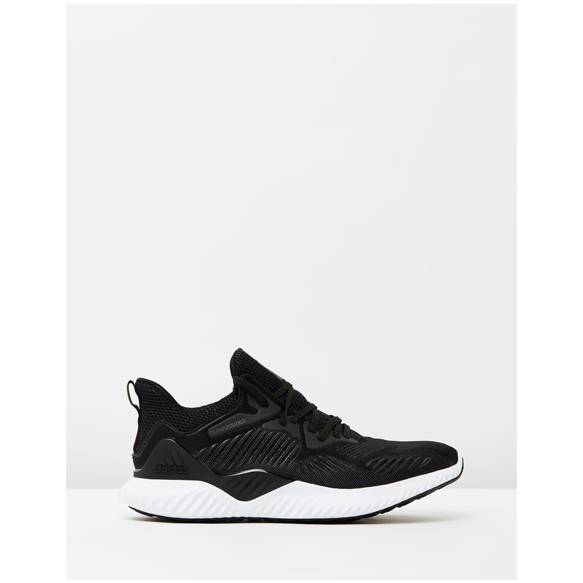 Alphabounce Beyond Running Shoes - Men's Core Black, Core Black & Footwear White by Adidas Performance