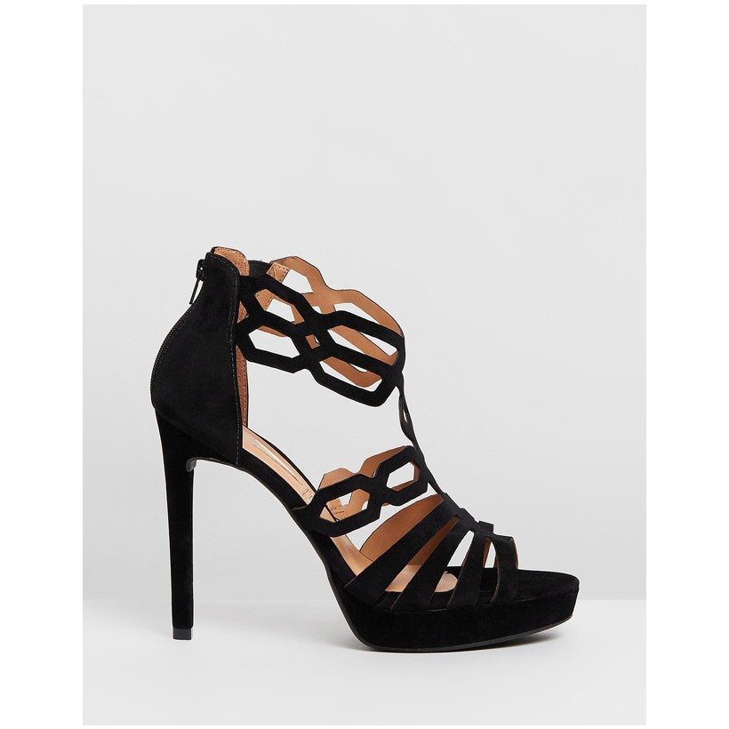 Alphi Heels Black by Vizzano
