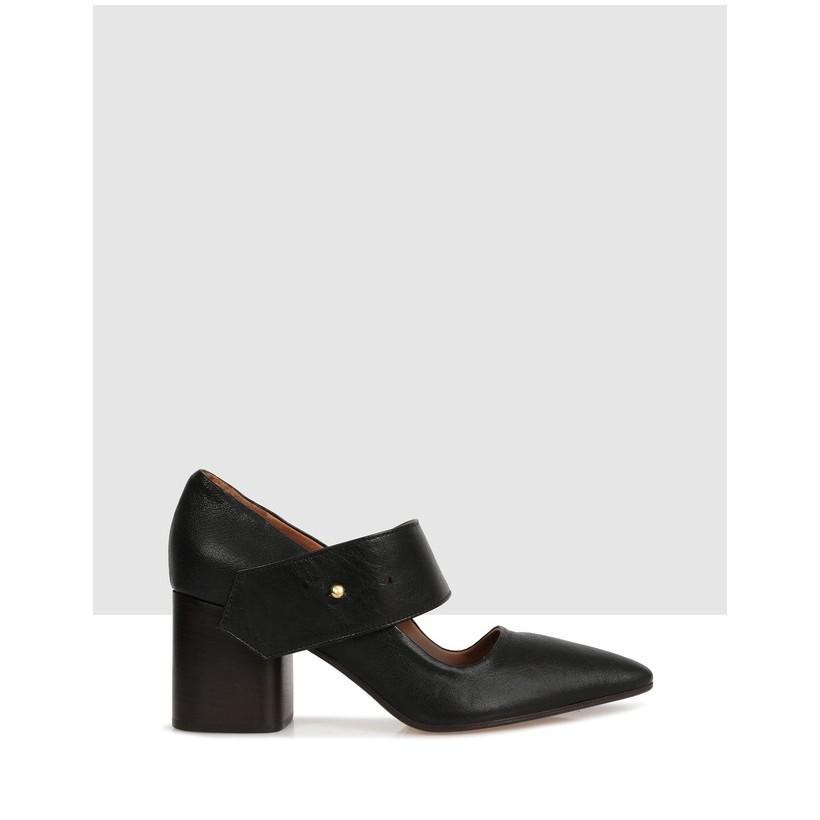 Alsen Court Shoes Black by Beau Coops