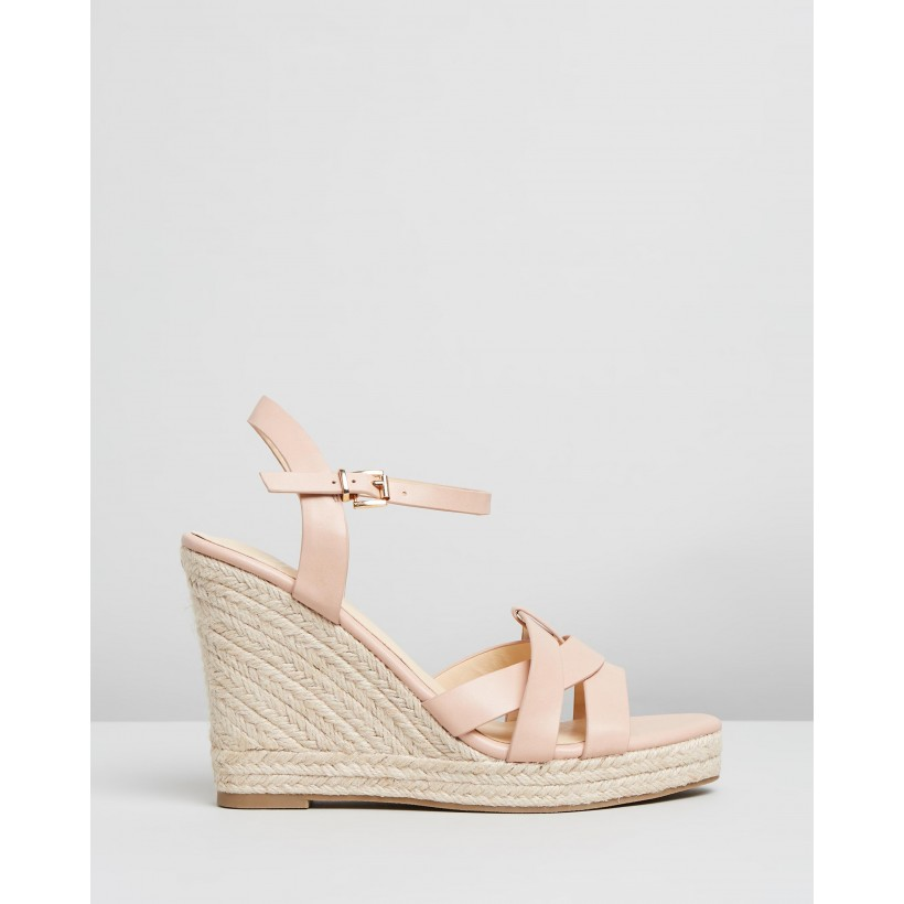 Amanda Wedges Blush Smooth by Spurr