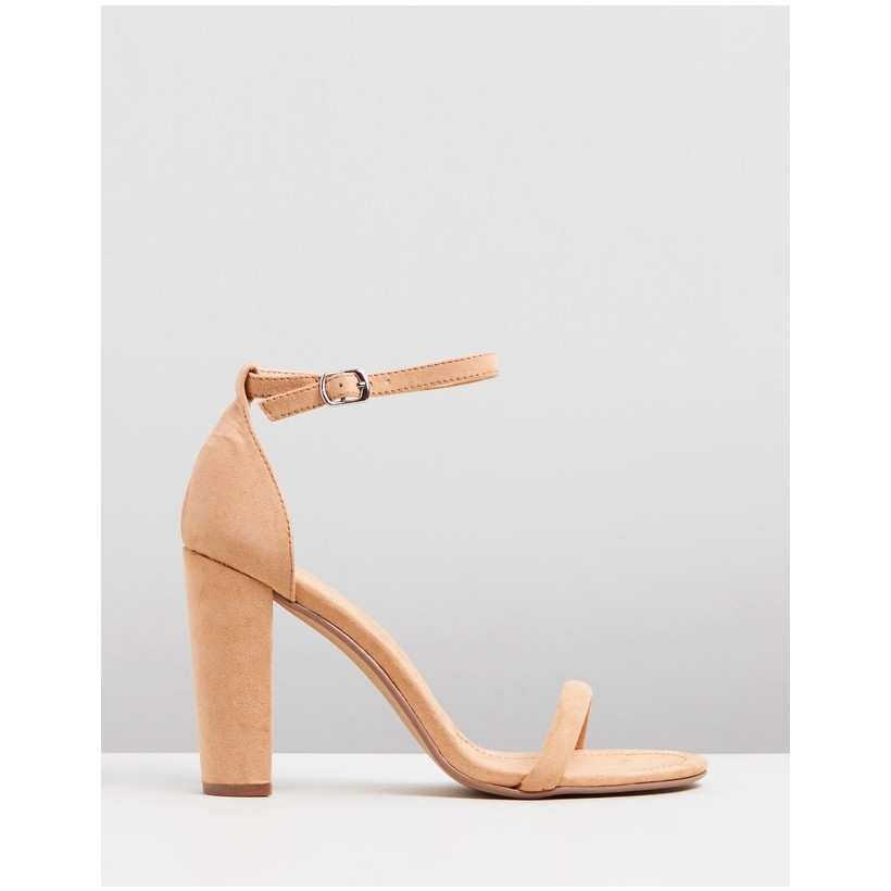 Amelie Camel Faux Suede by Therapy