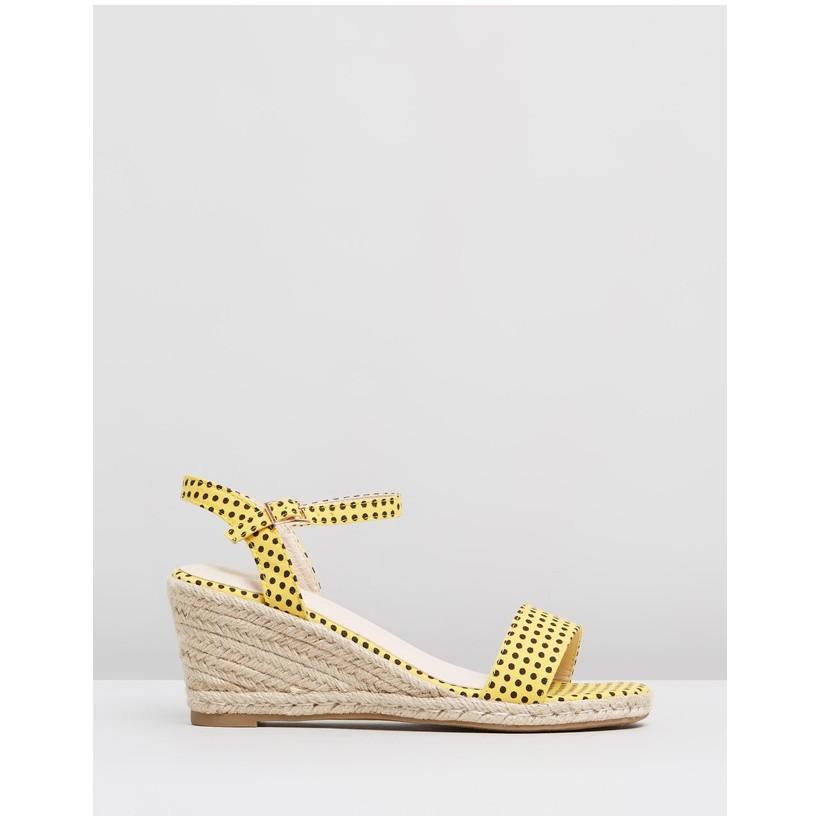 Amos-W Yellow Spots by Ko Fashion