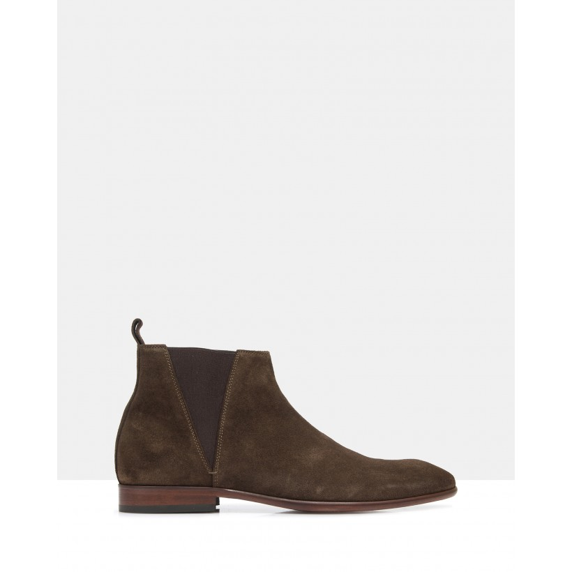 Anderson Ankle Boots Brown by Brando