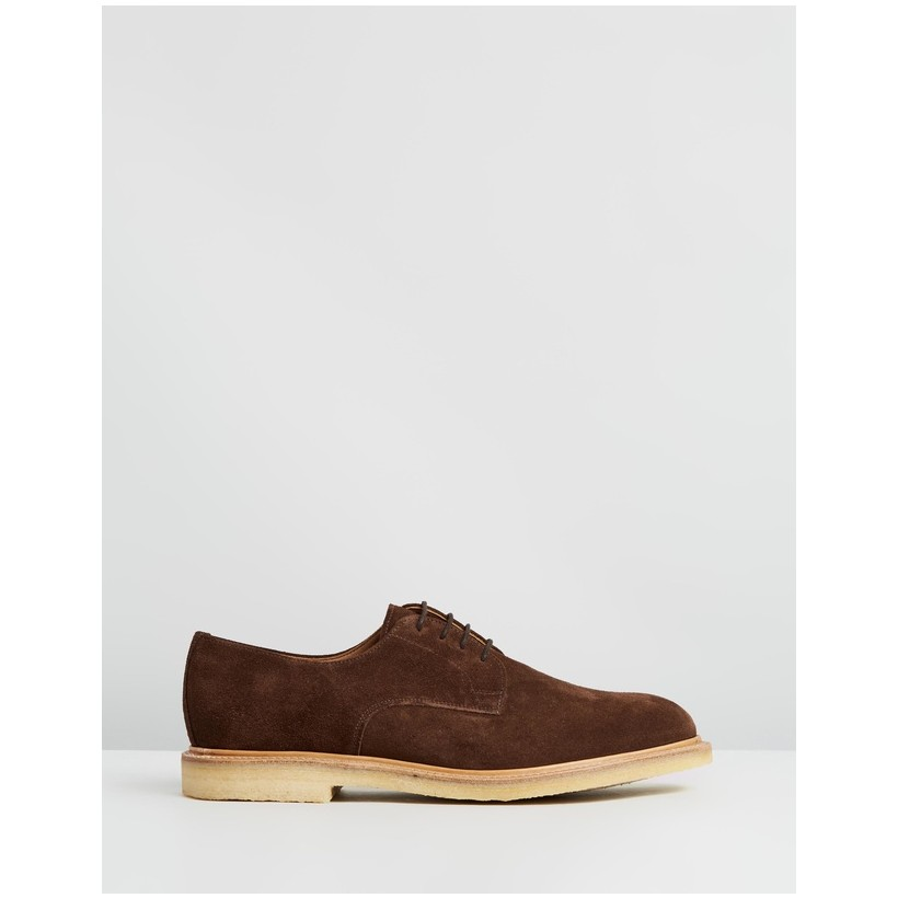 Archie Gibson Shoes Snuff Suede by Sanders