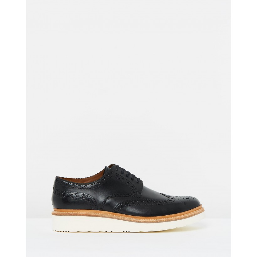 Archie V Black Calf by Grenson