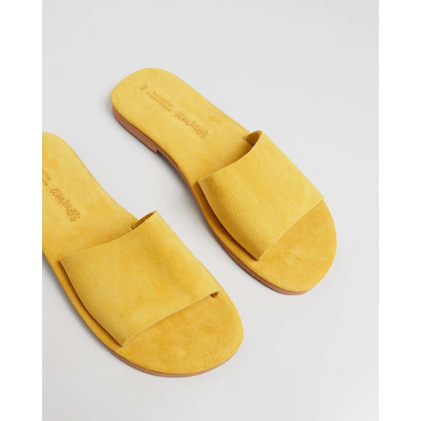 Arete Sandals Yellow by Ammos