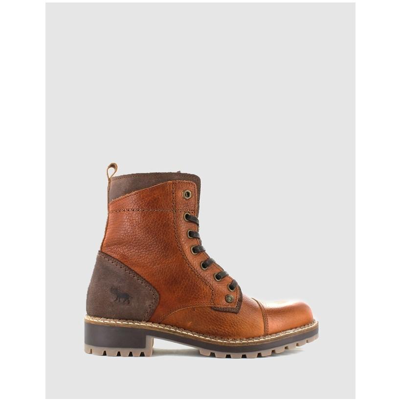 Aria Boots Rust by Wild Rhino
