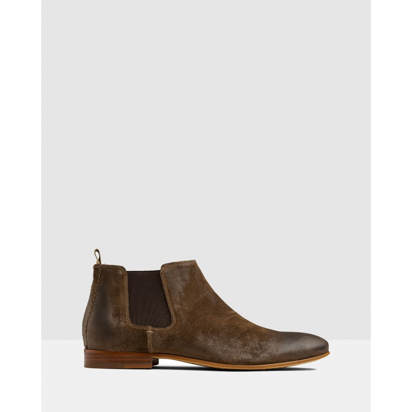 Arsenal Chelsea Boots Khaki by Aq By Aquila