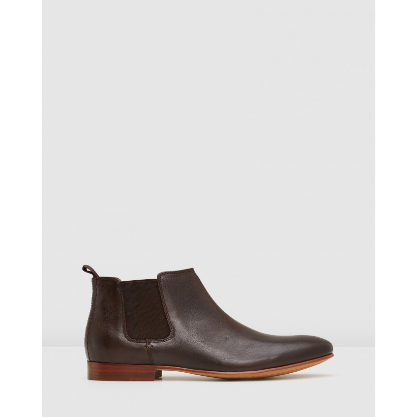 Arsenal Chelsea Boots Brown by Aq By Aquila