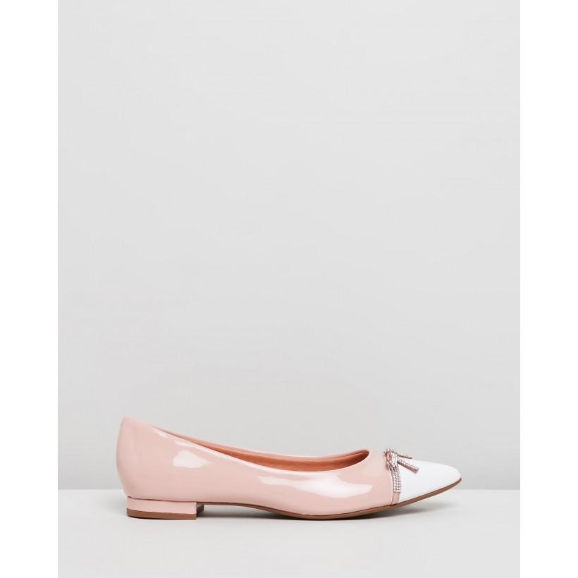 Ashe Pink & White by Vizzano