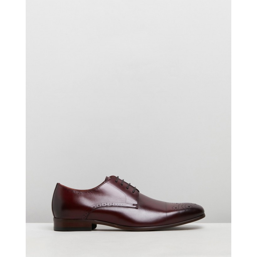 Ashton Burgundy Polished by Florsheim