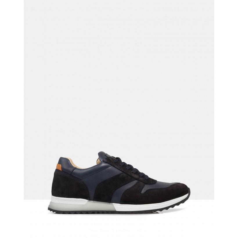 Aspen Sneakers Navy by Brando
