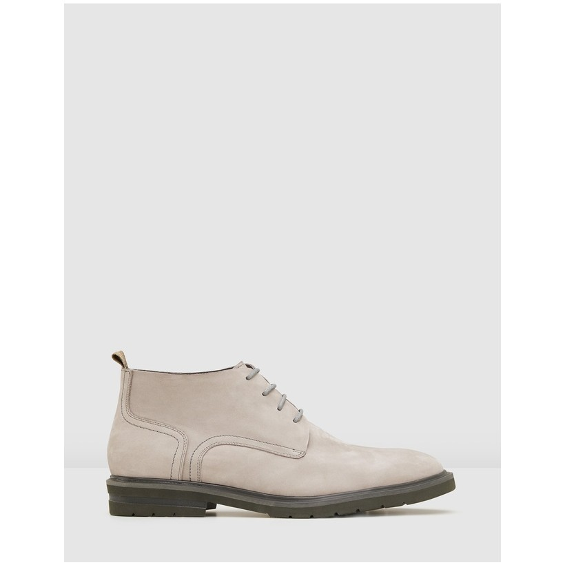 Auckland Desert Boots Stone by Aq By Aquila