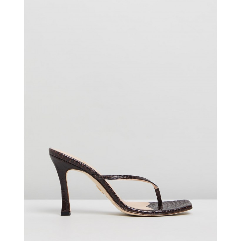 Audre Sandals Espresso by Brother Vellies