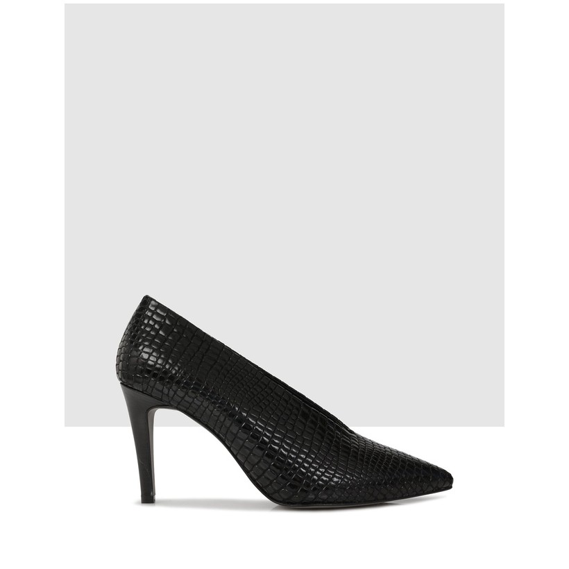Aulia Heels Nero by Sempre Di