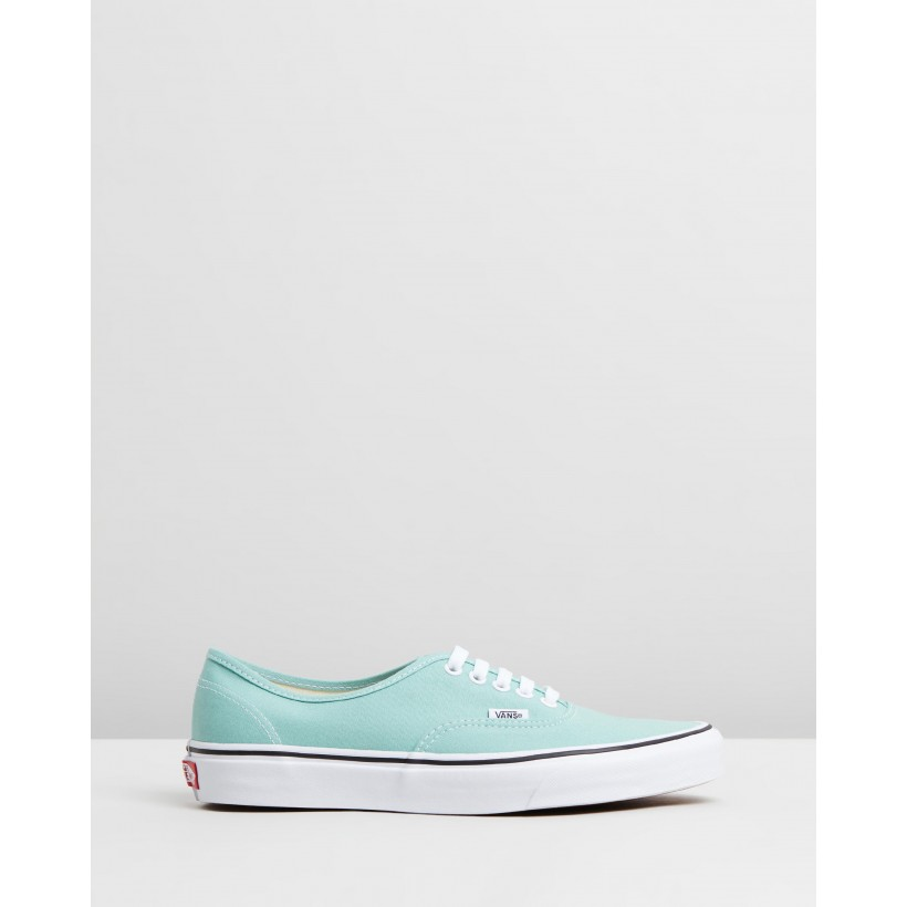Authentic - Unisex Aqua Haze & True White by Vans
