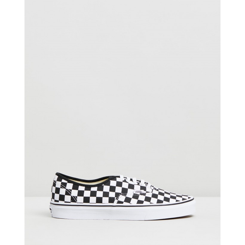 Authentic - Unisex Black & True White by Vans