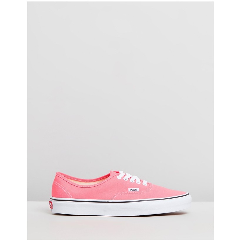 Authentic - Women's Strawberry Pink & True White by Vans