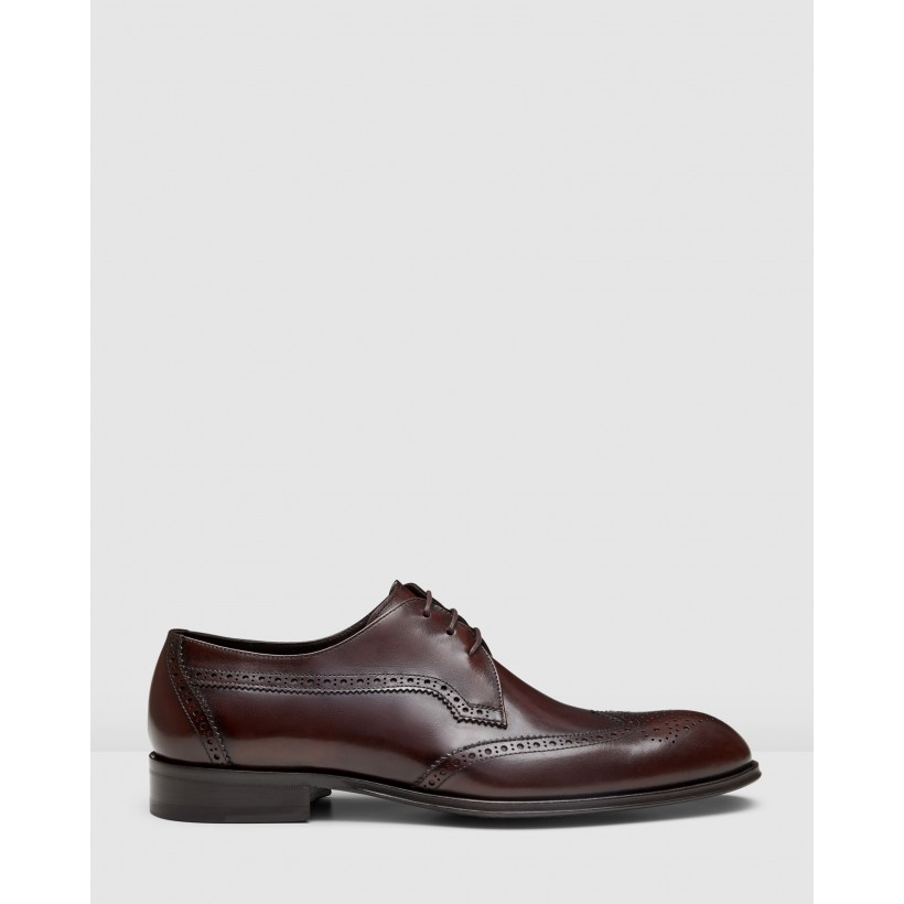 Baden Brogues Brown by Aquila