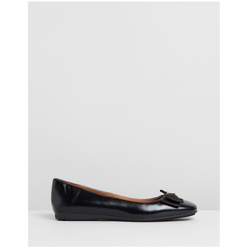 Ballet Flats Black by Emporio Armani